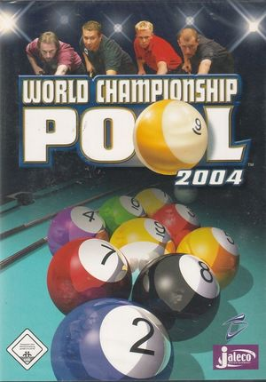 Cover for World Championship Pool 2004.