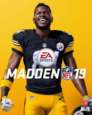 Cover for Madden NFL 19.