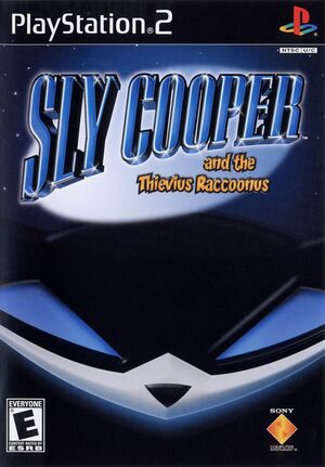Cover for Sly Cooper and the Thievius Raccoonus.