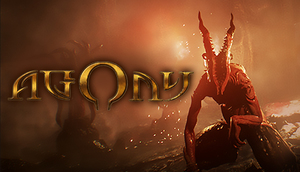 Cover for Agony.