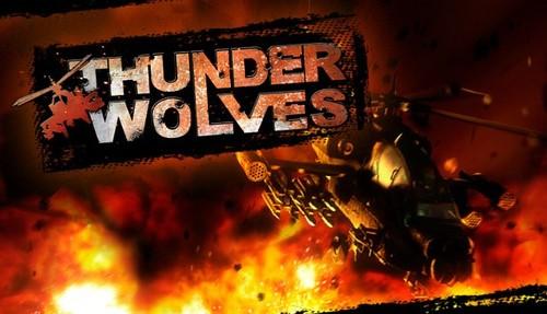 Cover for Thunder Wolves.