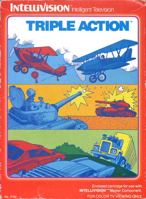 Cover for Triple Action.