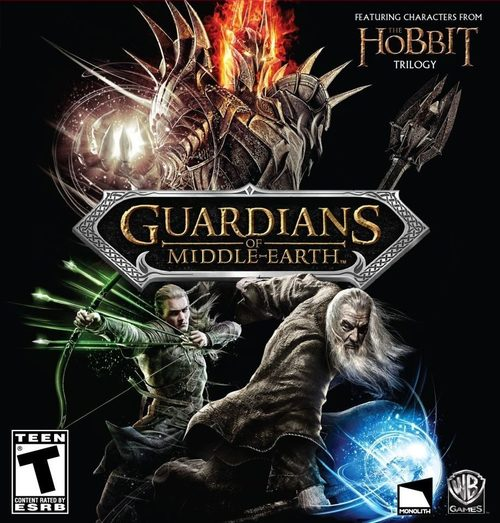 Cover for Guardians of Middle-earth.