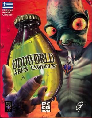 Cover for Oddworld: Abe's Exoddus.