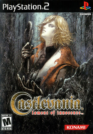 Cover for Castlevania: Lament of Innocence.