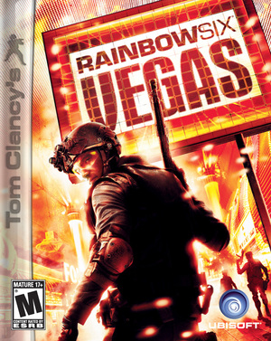 Cover for Tom Clancy's Rainbow Six: Vegas.