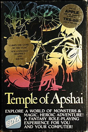 Cover for Temple of Apshai.