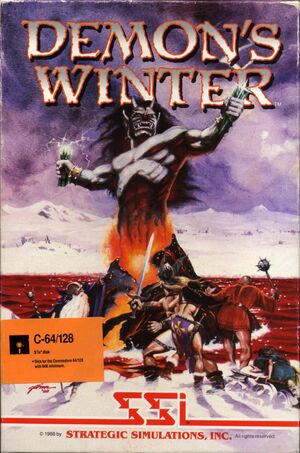 Cover for Demon's Winter.