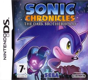Cover for Sonic Chronicles: The Dark Brotherhood.