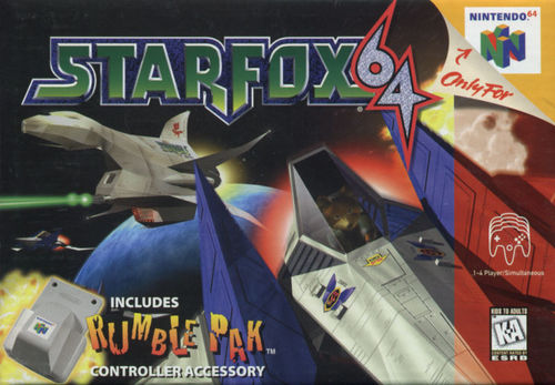 Cover for Star Fox 64.