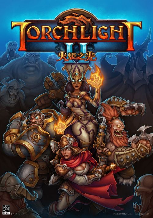 Cover for Torchlight II.