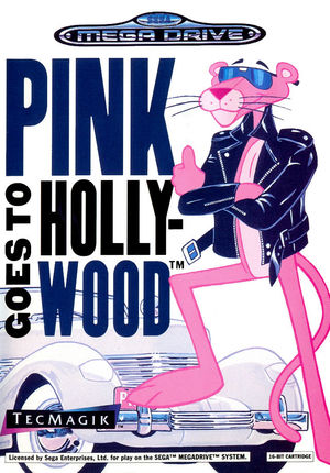 Cover for Pink Goes to Hollywood.