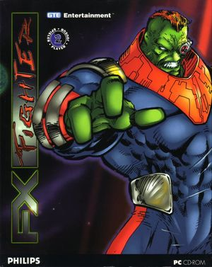 Cover for FX Fighter.
