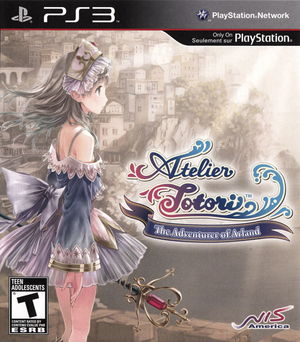 Cover for Atelier Totori: The Adventurer of Arland.