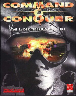 Cover for Command & Conquer.