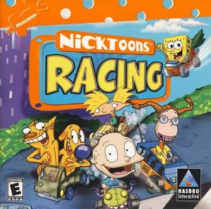 Cover for Nicktoons Racing.