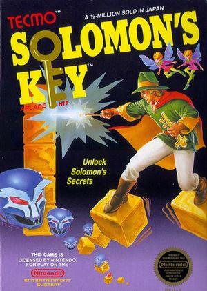 Cover for Solomon's Key.