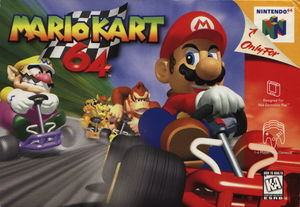 Cover for Mario Kart 64.