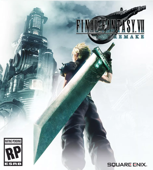 Cover for Final Fantasy VII Remake.