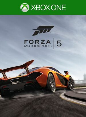 Cover for Forza Motorsport 5.