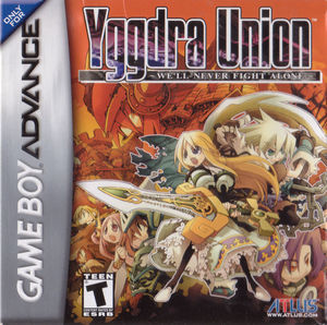 Cover for Yggdra Union: We'll Never Fight Alone.