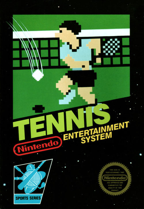 Cover for Tennis.