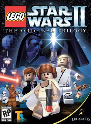Cover for Lego Star Wars II: The Original Trilogy.