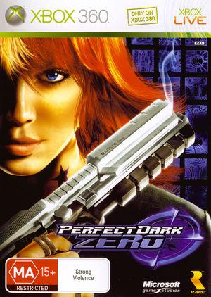 Cover for Perfect Dark Zero.