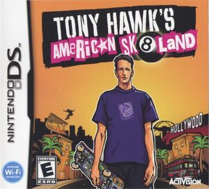 Cover for Tony Hawk's American Sk8land.