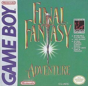 Cover for Final Fantasy Adventure.