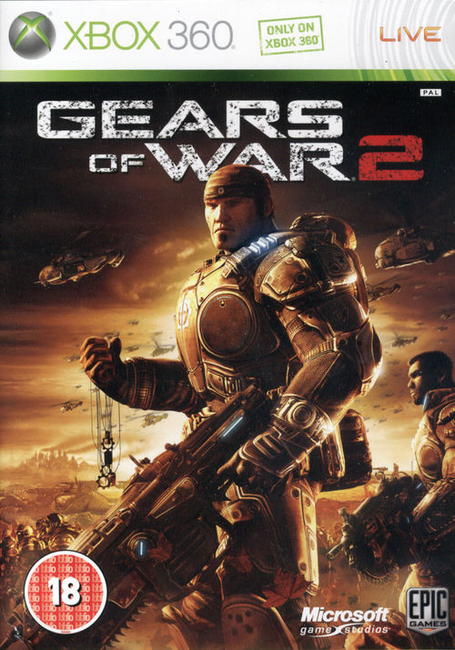 Cover for Gears of War 2.