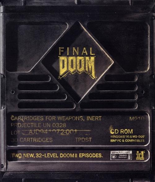 Cover for Final Doom.