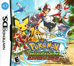 Cover for Pokémon Ranger: Guardian Signs.