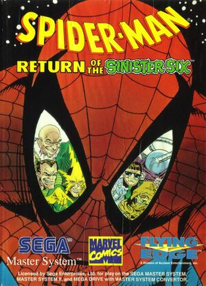 Cover for Spider-Man: Return of the Sinister Six.
