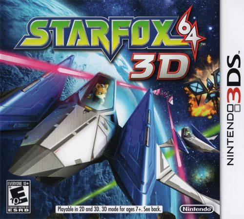 Cover for Star Fox 64 3D.
