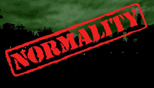 Cover for Normality.