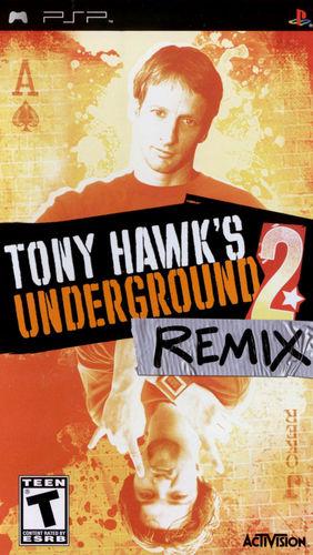 Cover for Tony Hawk's Underground 2: Remix.