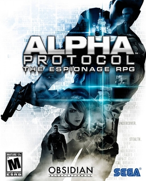 Cover for Alpha Protocol.