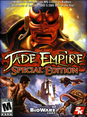 Cover for Jade Empire.