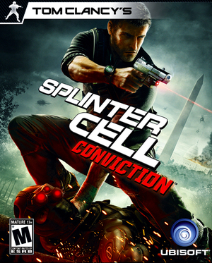 Cover for Tom Clancy's Splinter Cell: Conviction.