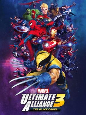 Cover for Marvel: Ultimate Alliance 3: The Black Order.