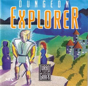 Cover for Dungeon Explorer.