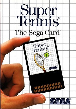Cover for Super Tennis.
