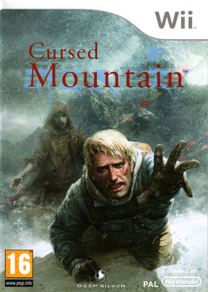 Cover for Cursed Mountain.