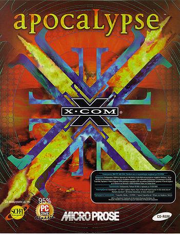 Cover for X-COM: Apocalypse.