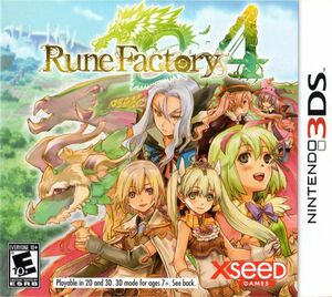 Cover for Rune Factory 4.