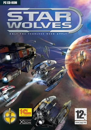 Cover for Star Wolves.
