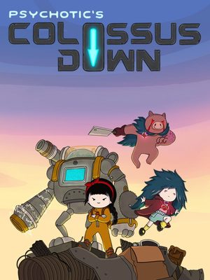 Cover for Colossus Down.