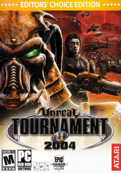 Cover for Unreal Tournament 2004.