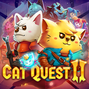 Cover for Cat Quest II.